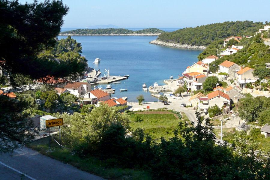 Grscica-panorama-île-de-korcula