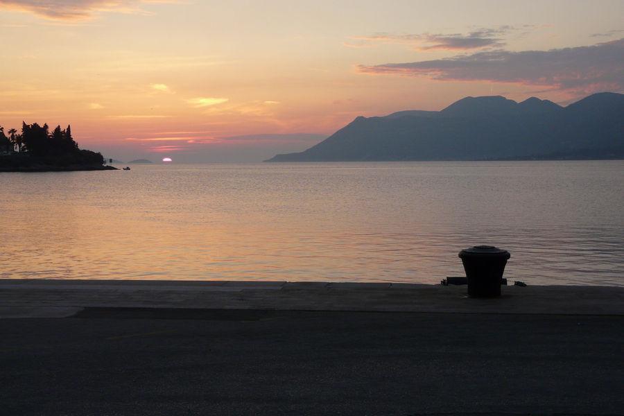 berühmte-Korcula-Sonnenuntergang