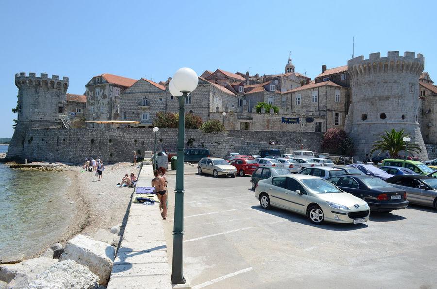 korcula-city-walls