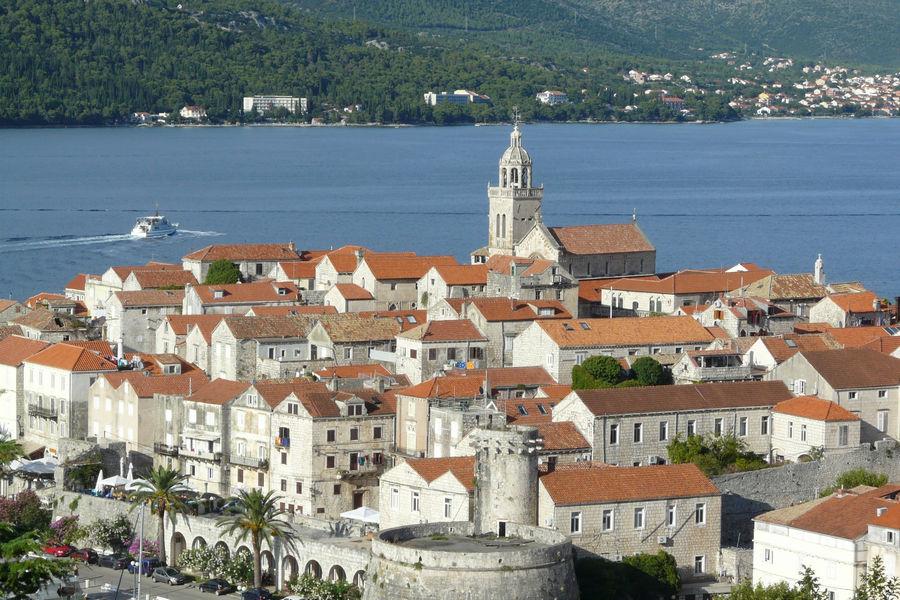 Korčula-srednjovjekovni grad