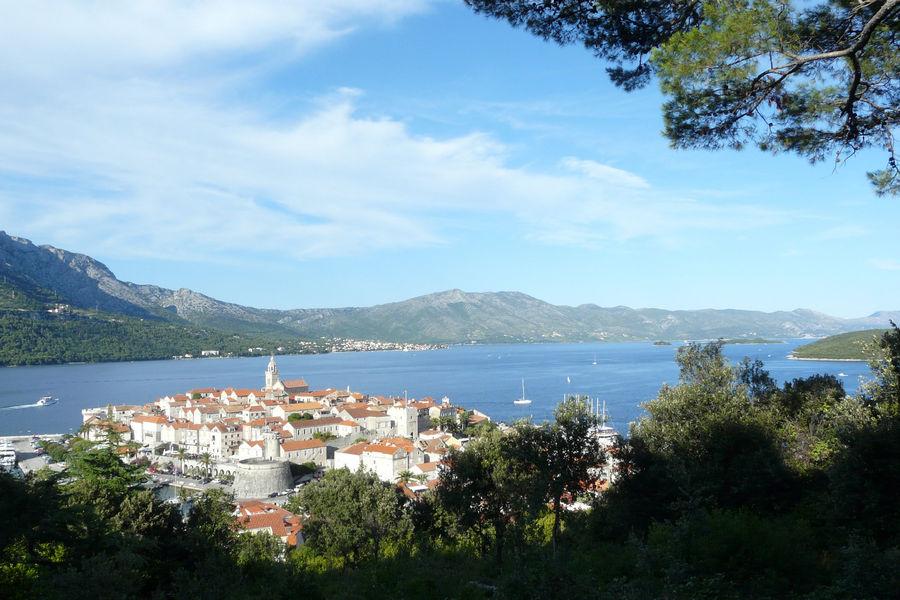 Korčula-panorama