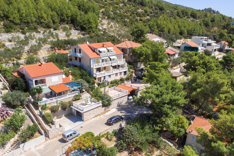korcula-prizba-apartments-jelica-from-air-13