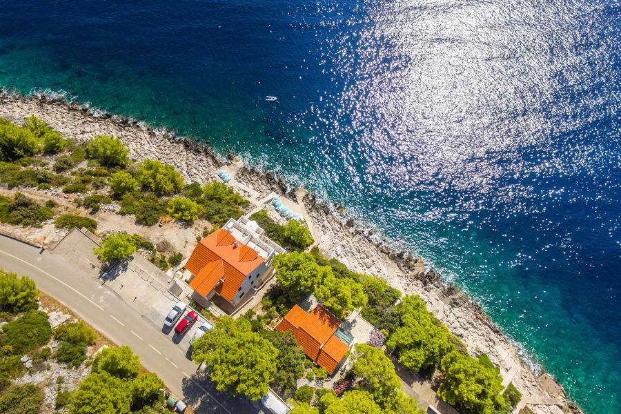 korcula-prizba-apartments-punta-house-from-air-19