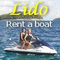 Lido rent a boat