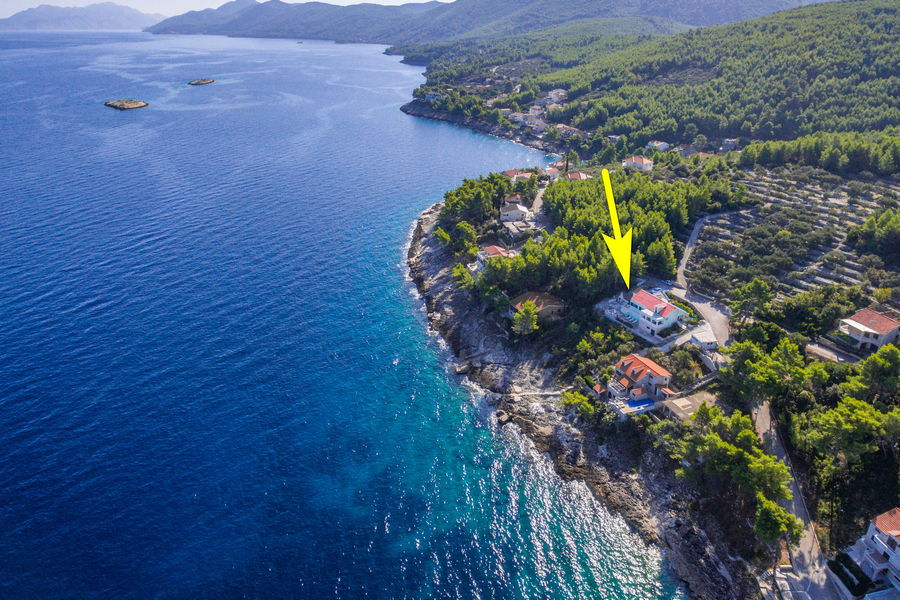 Holiday-Home-Korčula-Prigradica-Marija-hiša-od-zrak-arrow-06