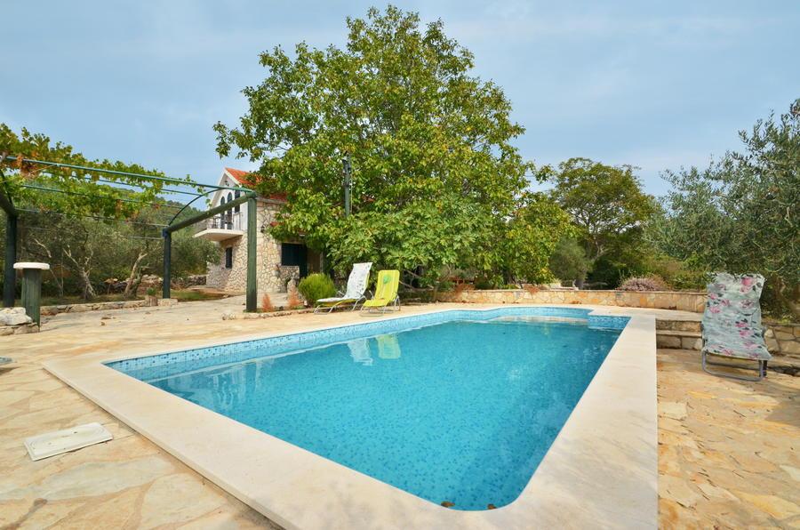 Villa korcula-prizba-pool-katja-house-11