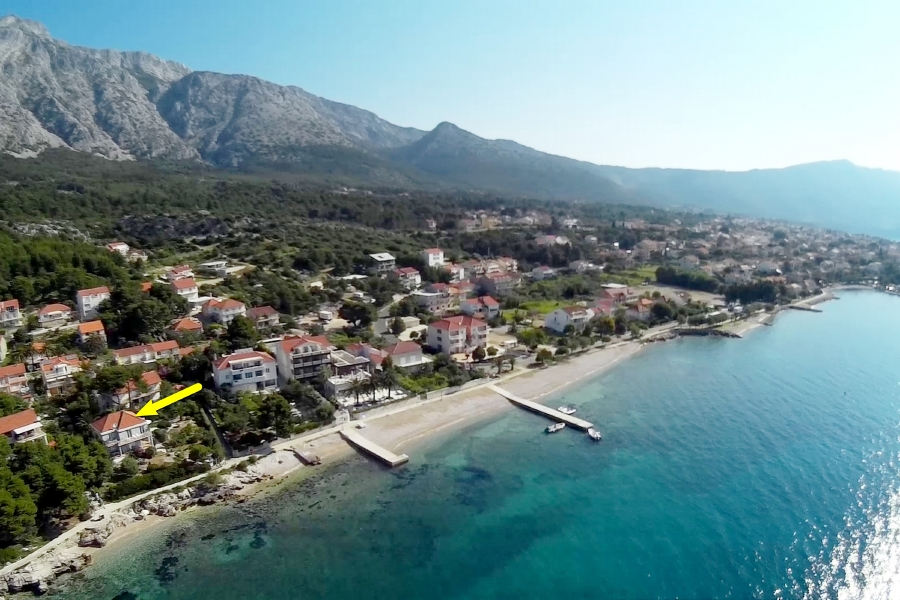 Peljesac-Orebic-Villa-Mery-House-from-Air-05