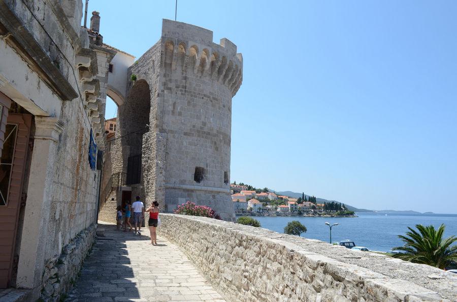 grad-zidovi-Korčula