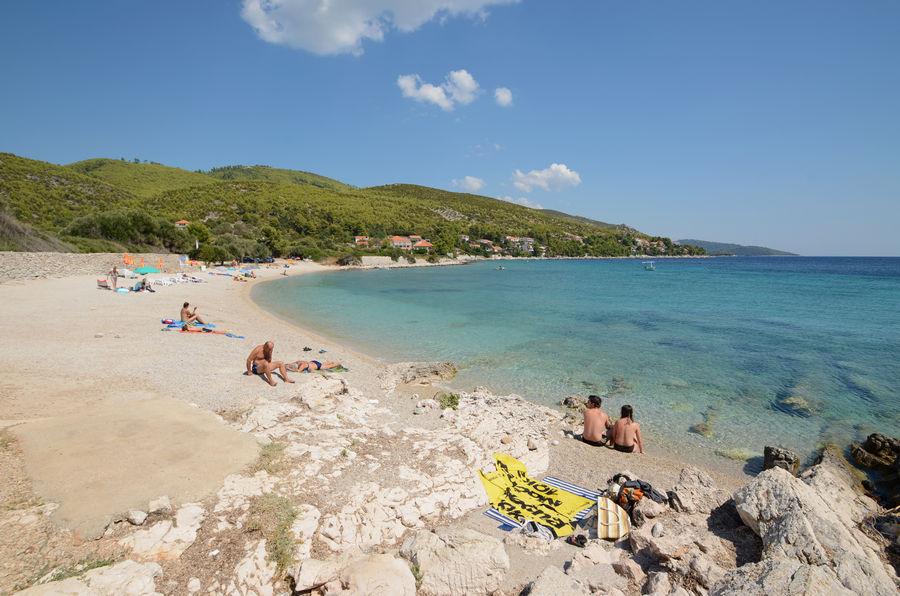 Korcula Ferienwohnungen Prizba Villana Strand-01