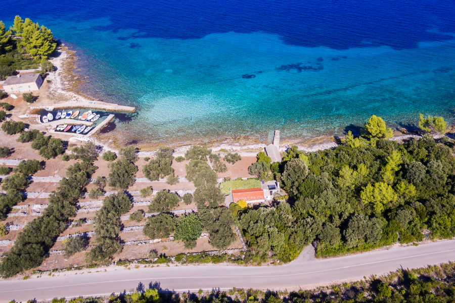 House-for-Rent-Korcula-Blaca-more-House-from-Air-02