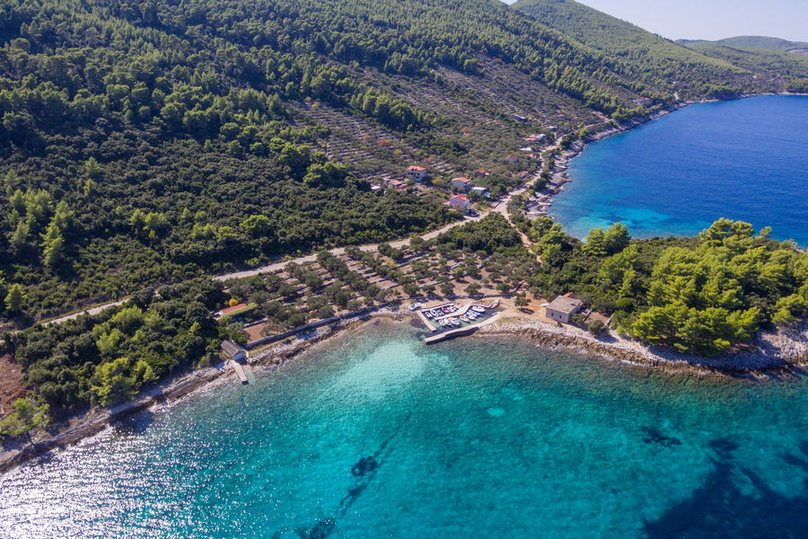 House-for-Rent-Korcula-Blaca-more-House-from-Air-06