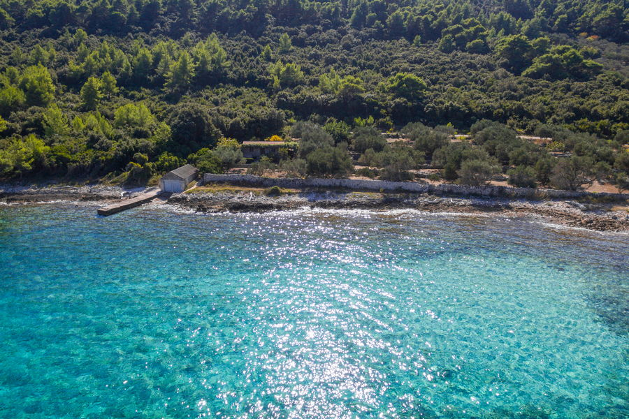 House-for-rent-Korcula-Blaca-more-House-from-Air-09
