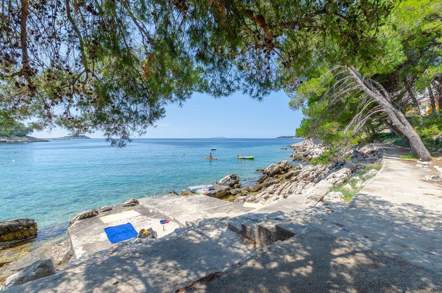 Korcula Ferienwohnungen Prizba Shu-Strand-01