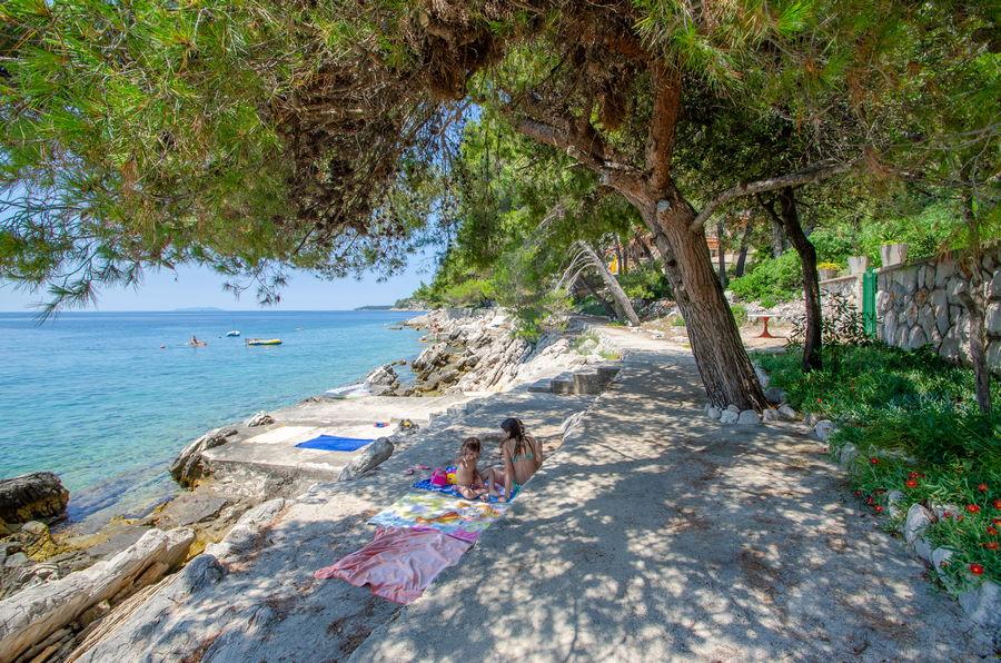 Korcula Ferienwohnungen Prizba Shu-Strand-02