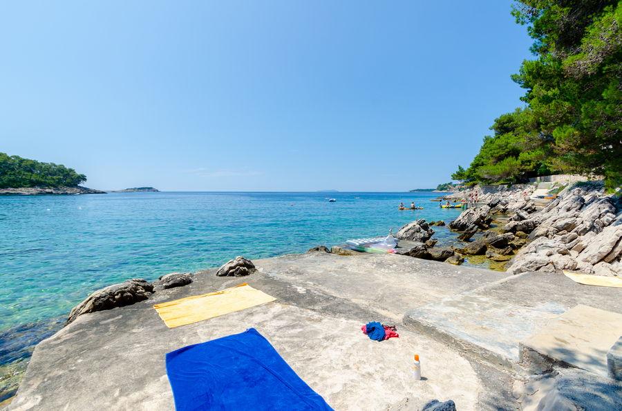 Korcula Ferienwohnungen Prizba Shu-Strand-03