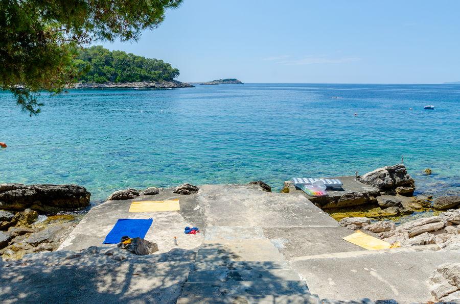Korcula Ferienwohnungen Prizba Shu-Strand-06