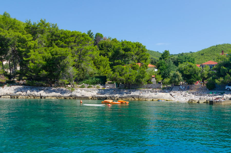 Korcula-Prizba-Apartment-Tonci-House-from-Sea