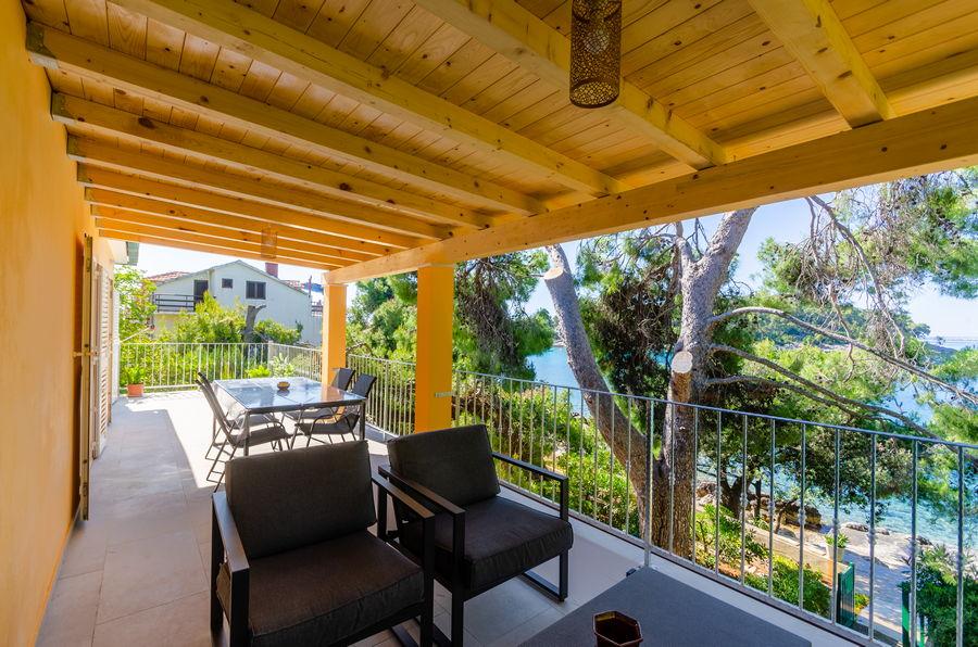 Apartments Korcula Tonci Prizba Terrace