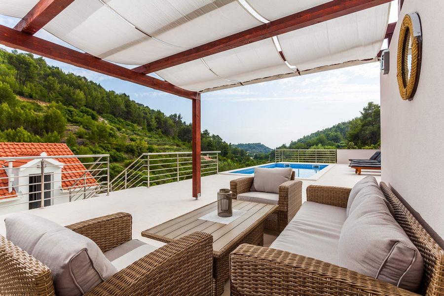 Terrasse von Villa ileana-04