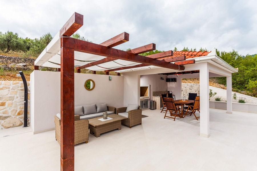 Terrasse von Villa ileana-05