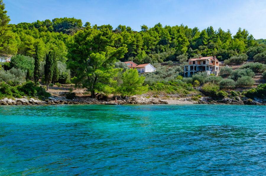Korčula-apartmaji-poplat-vela luka-Sam-plaža-10