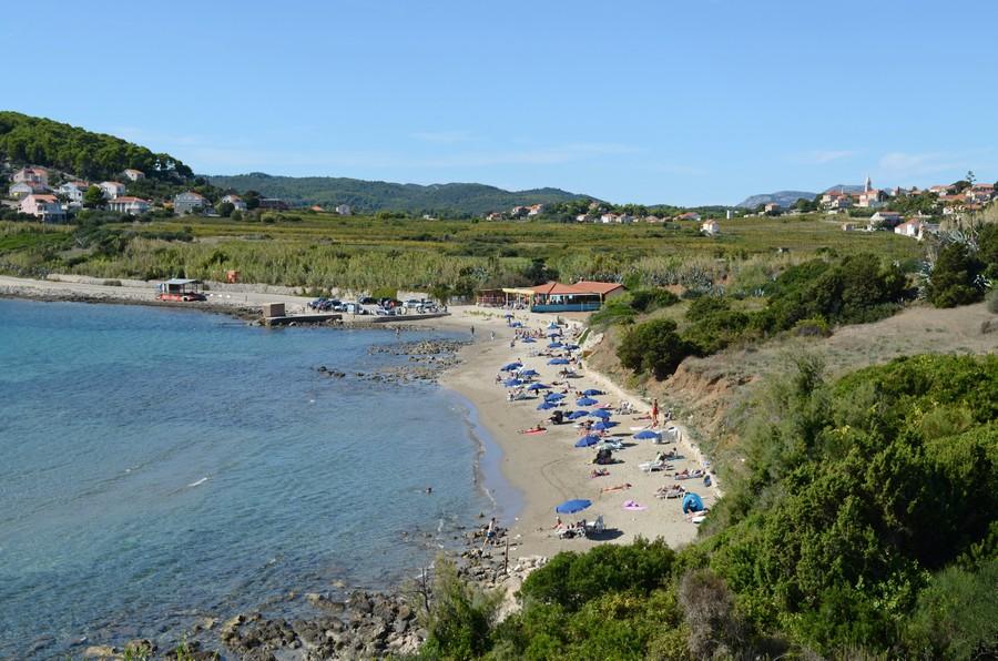 Lumbarda-plaža-Korčula